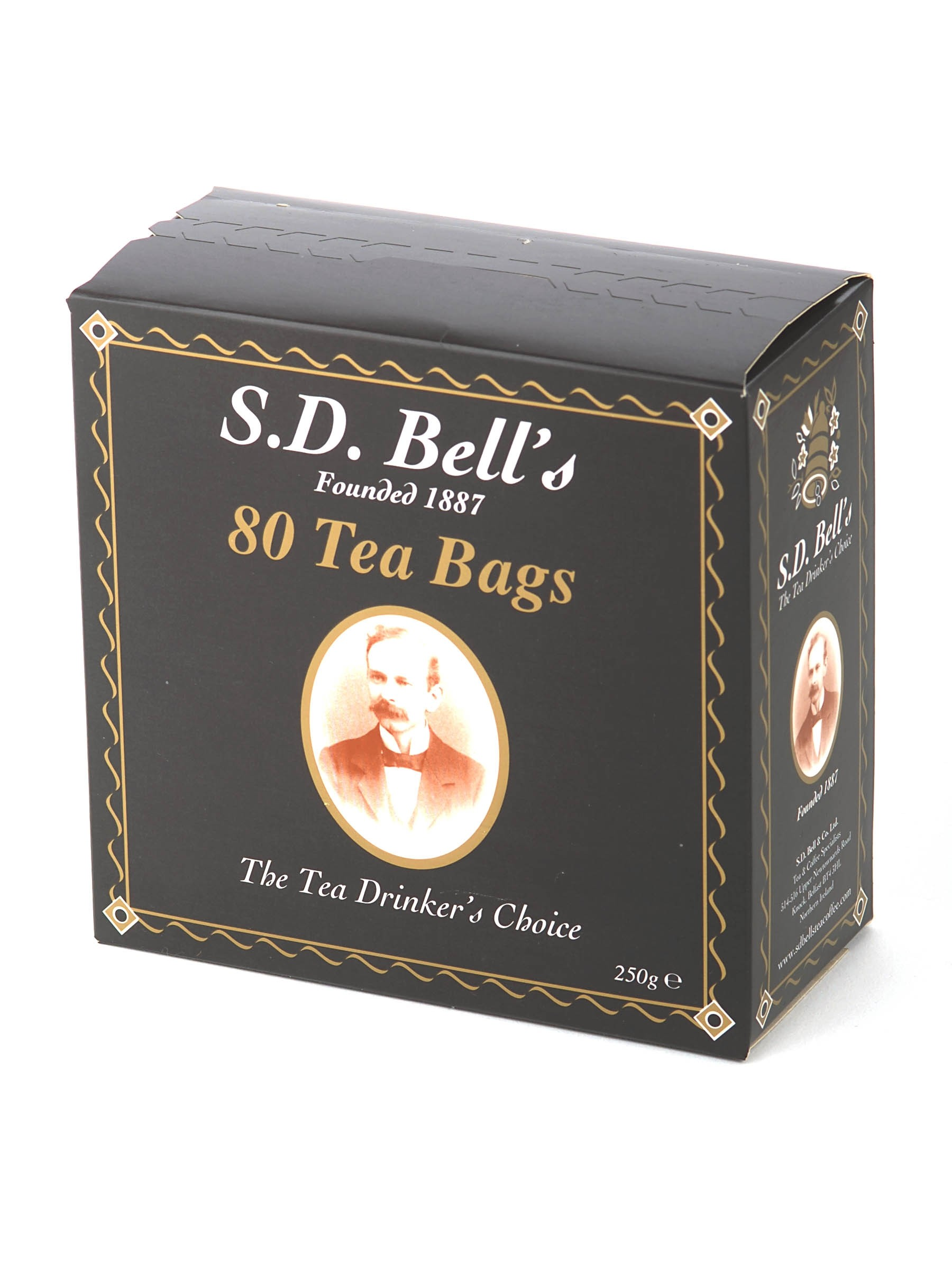 SD Bells Belfast Tea Carton - Teabags