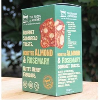 Honeyed Almond & Rosemary Toasts Foods of Athenry