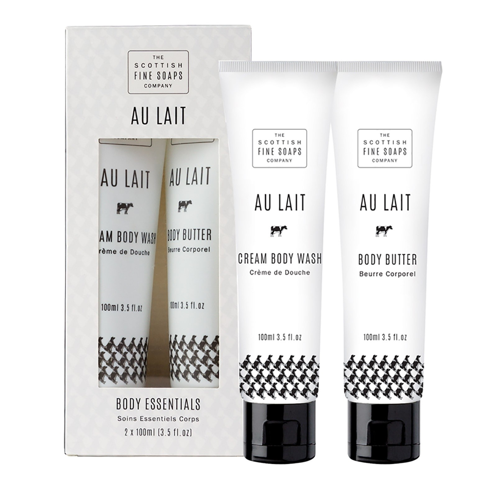 Au Lait Body Essentials Duo