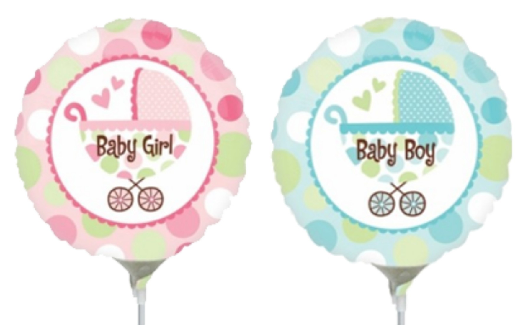 Baby Themed Balloons.