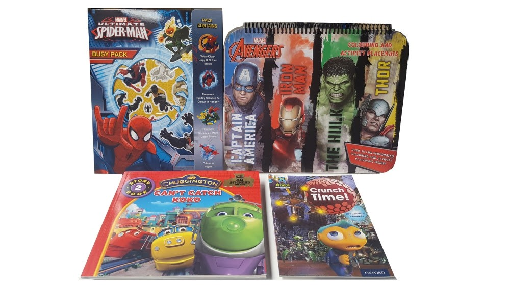 Avengers & Spider Man Gift Set