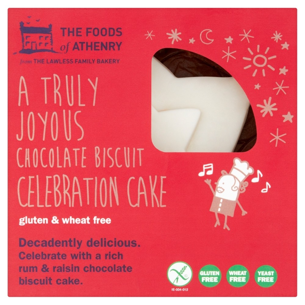 Gluten Free Chocolate Biscuit Celebration Cake 800g