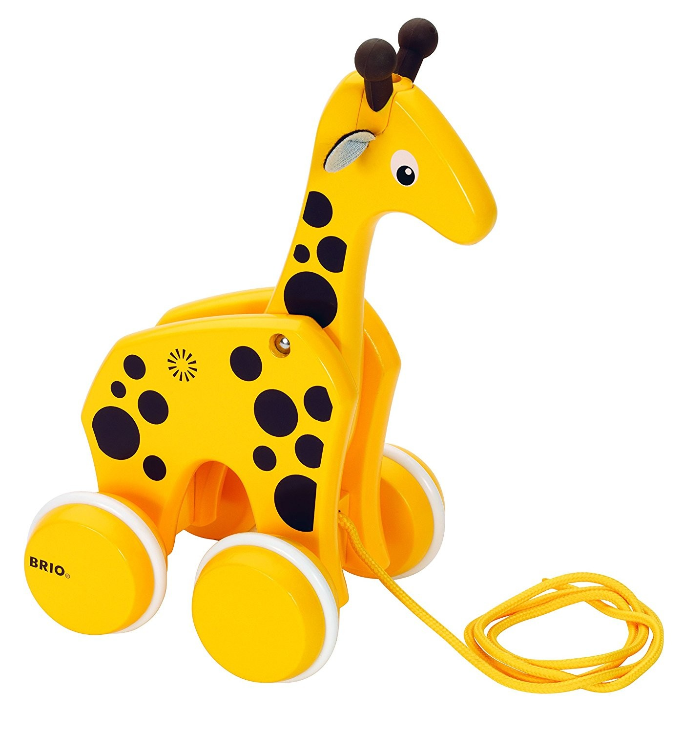 Pull along Wooden Giraffe by Brio