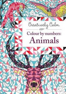 Creatively Calm Colour by numbers: Animals