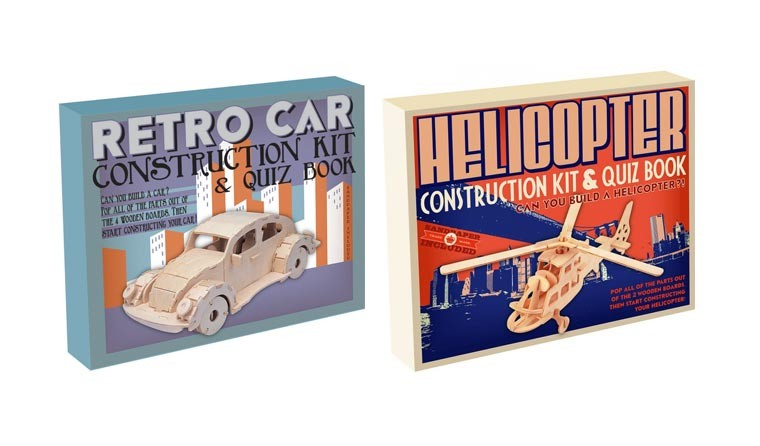 Vehicle Construction Kits by Professor Puzzle