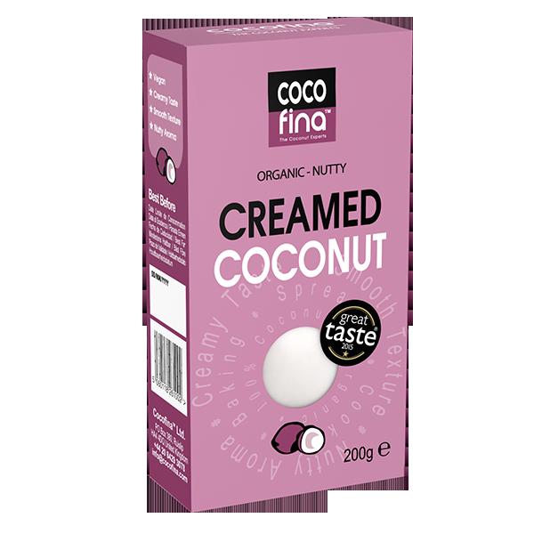 Organic Creamed Coconut – 200g