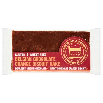 Gluten Free Belgian Chocolate Orange Biscuit Cake 75g