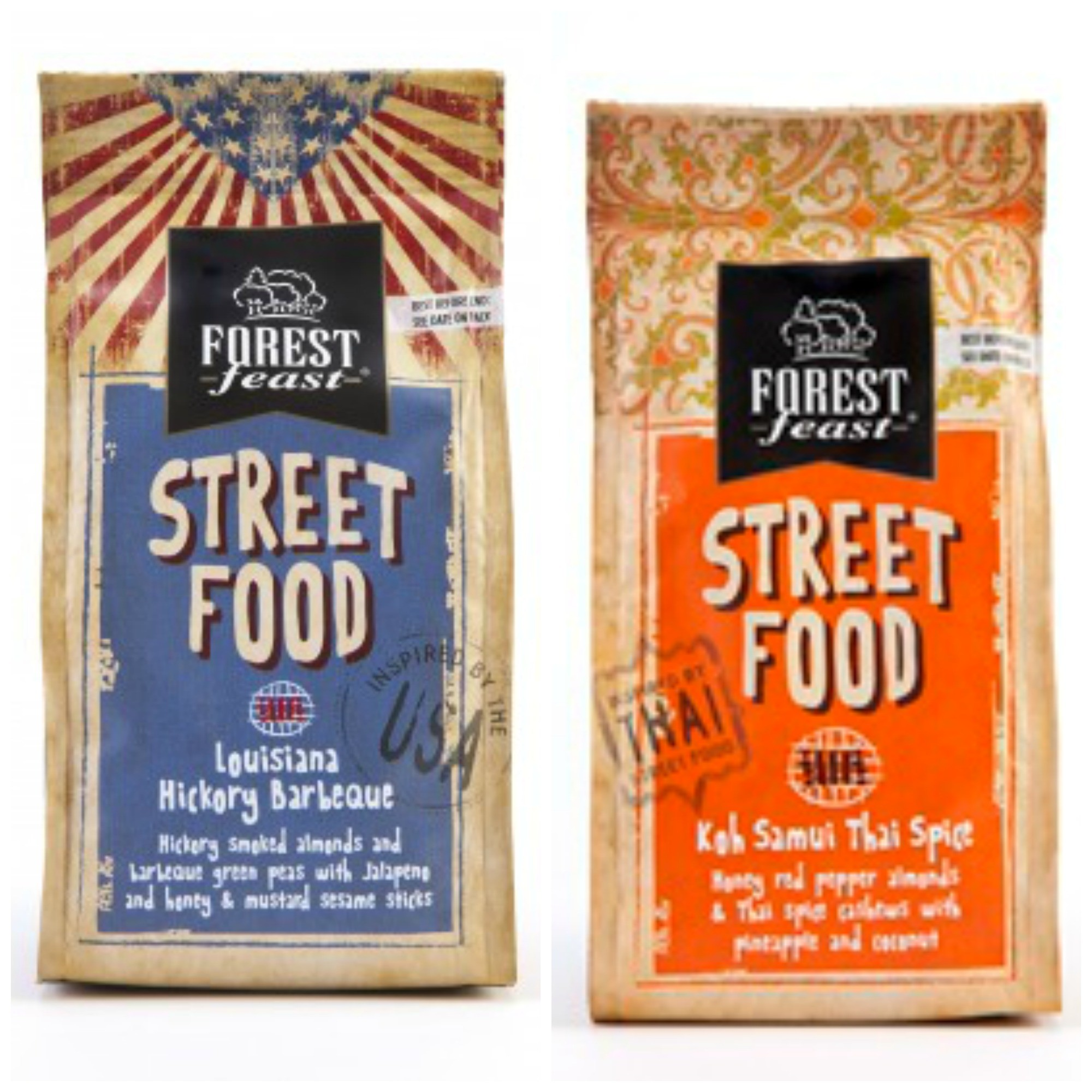 Forest Feast USA & Thai Street Food Nut Mix 40g