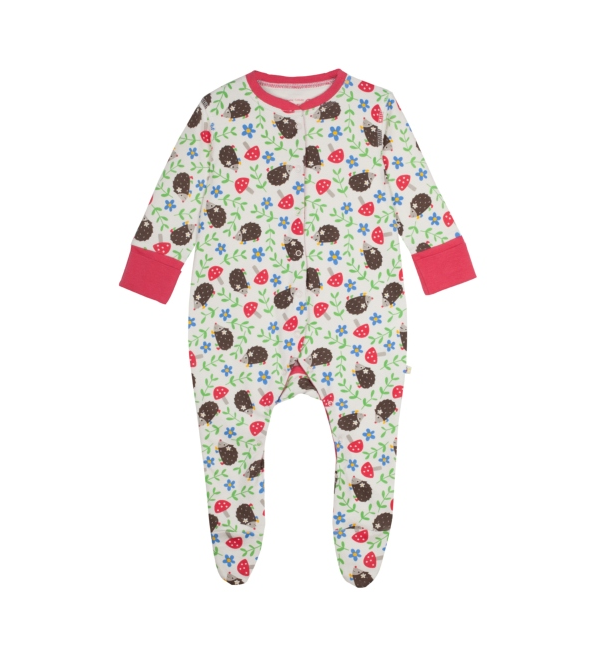 Frugi 100% Organic Babygrow Baby Girl