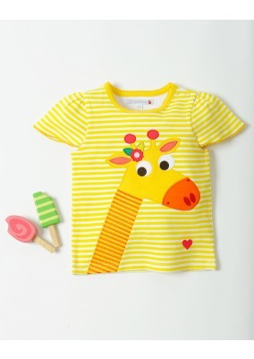 Gilly the Giraffe T-Shirt by Olive & Moss