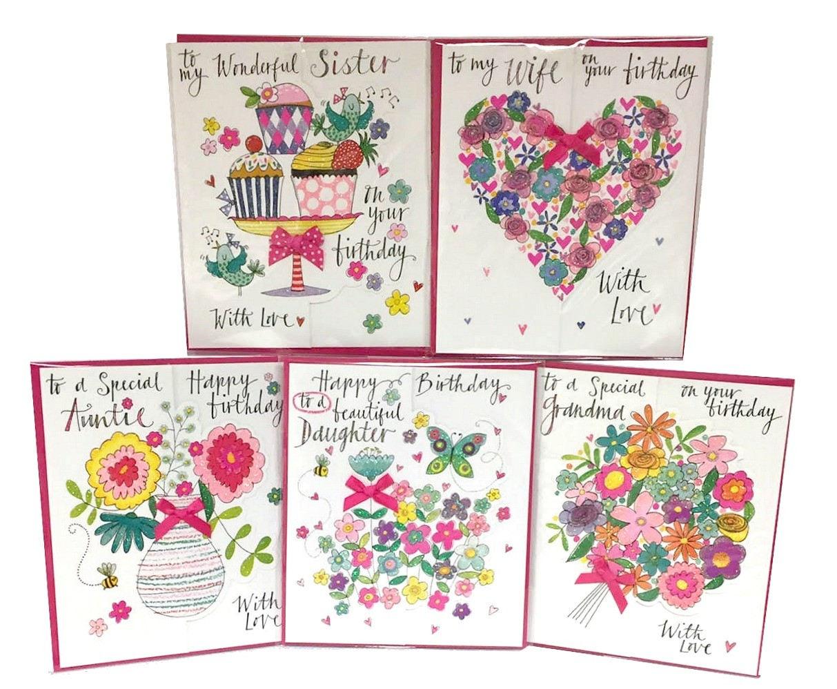 "Pretty ""Relations"" Cards For Her"
