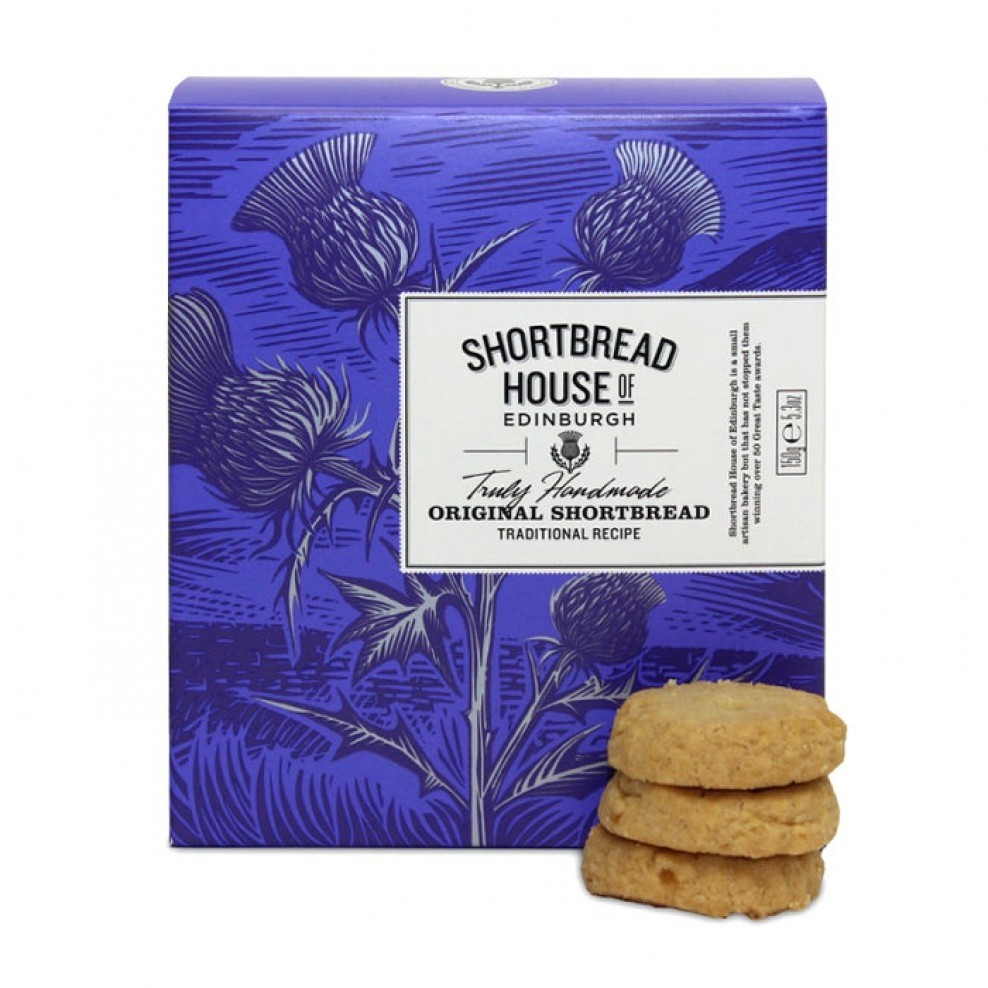 Truly Handmade Mini Shortbread Biscuits Original Recipe 150g