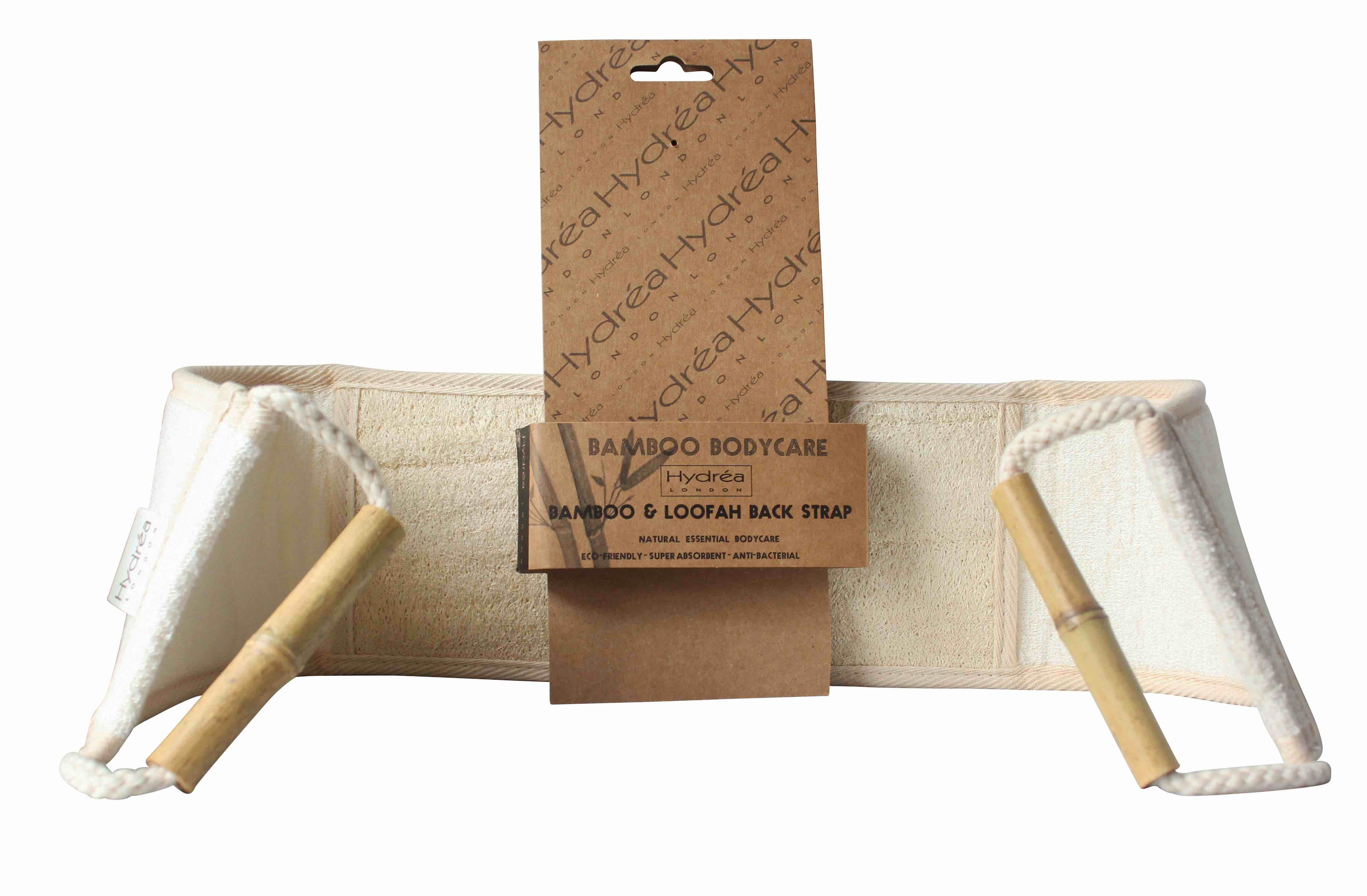 Bamboo Loofah Back Strap by Hydrea London