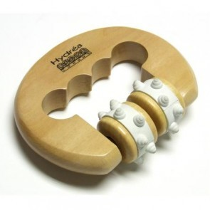 Stress Spot Wooden Hand Massager by Hydrea London