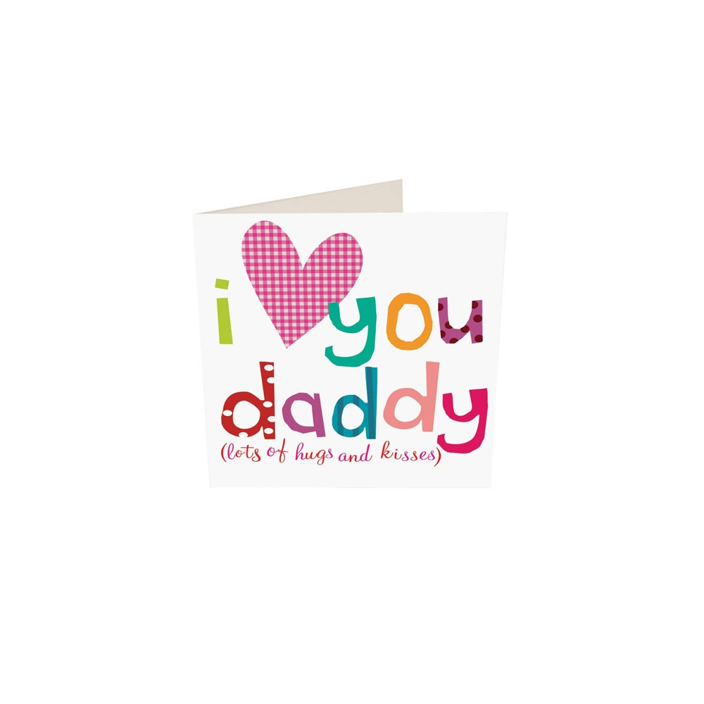 I Love You Daddy Gift Card