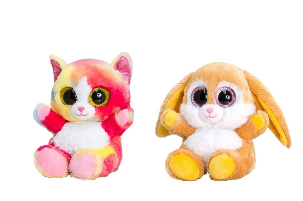Animotsu Rabbit/Rainbow Cat by Keel Toys