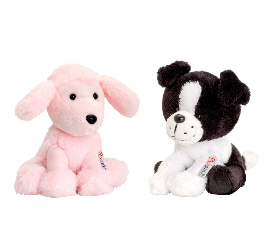 Border Collie or Pink Poodle by Keel Toys