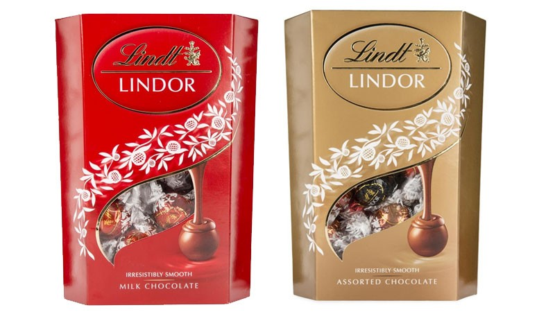 Lindt Lindor Chocolate Truffles Box 200g