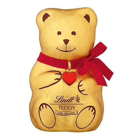 Lindt Swiss Milk Chocolate Teddy 100g