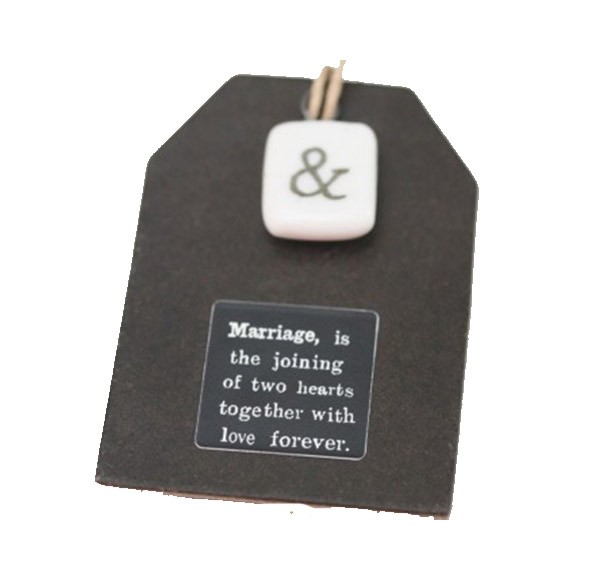 Marriage Keepsake Token