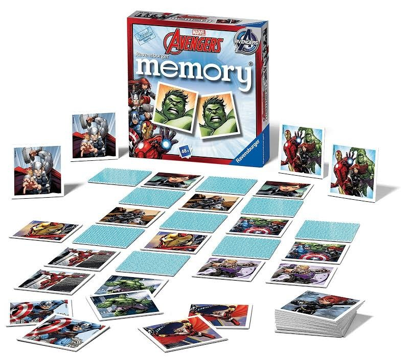 Avengers Assemble Mini Memory Card Game