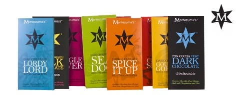 Montezuma Innovative British Chocolate Bar 100g