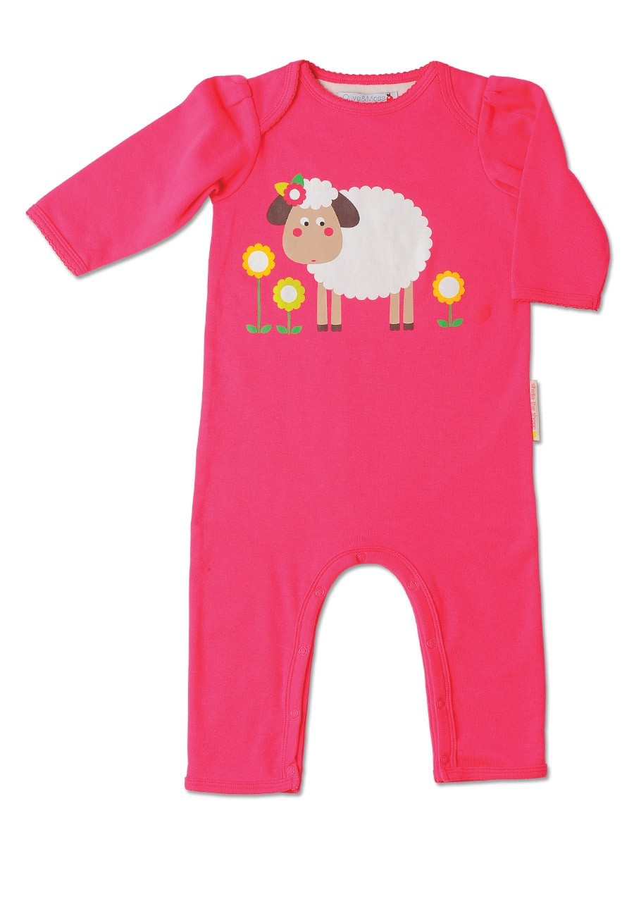 Sheila The Sheep Playsuit by Olive and Moss