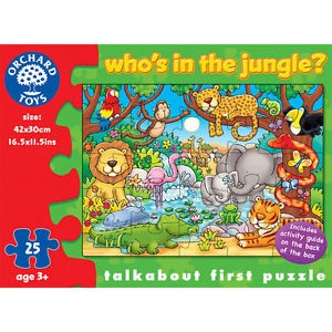 Who's in the Jungle Puzzle by Orchard Toys
