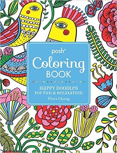 Posh Colouring Book by Flora Chang