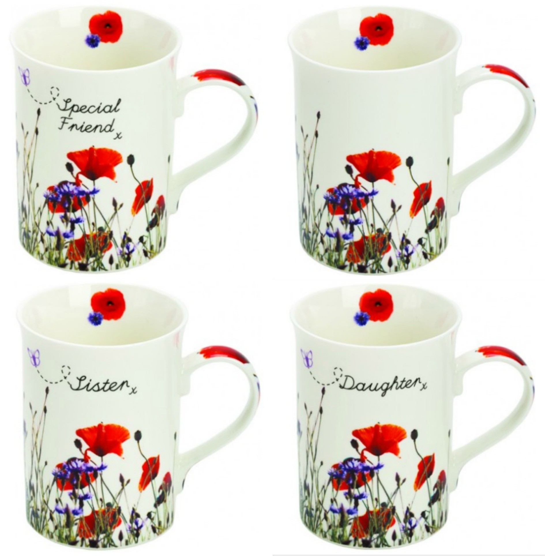 Female Floral Mugs by Suki