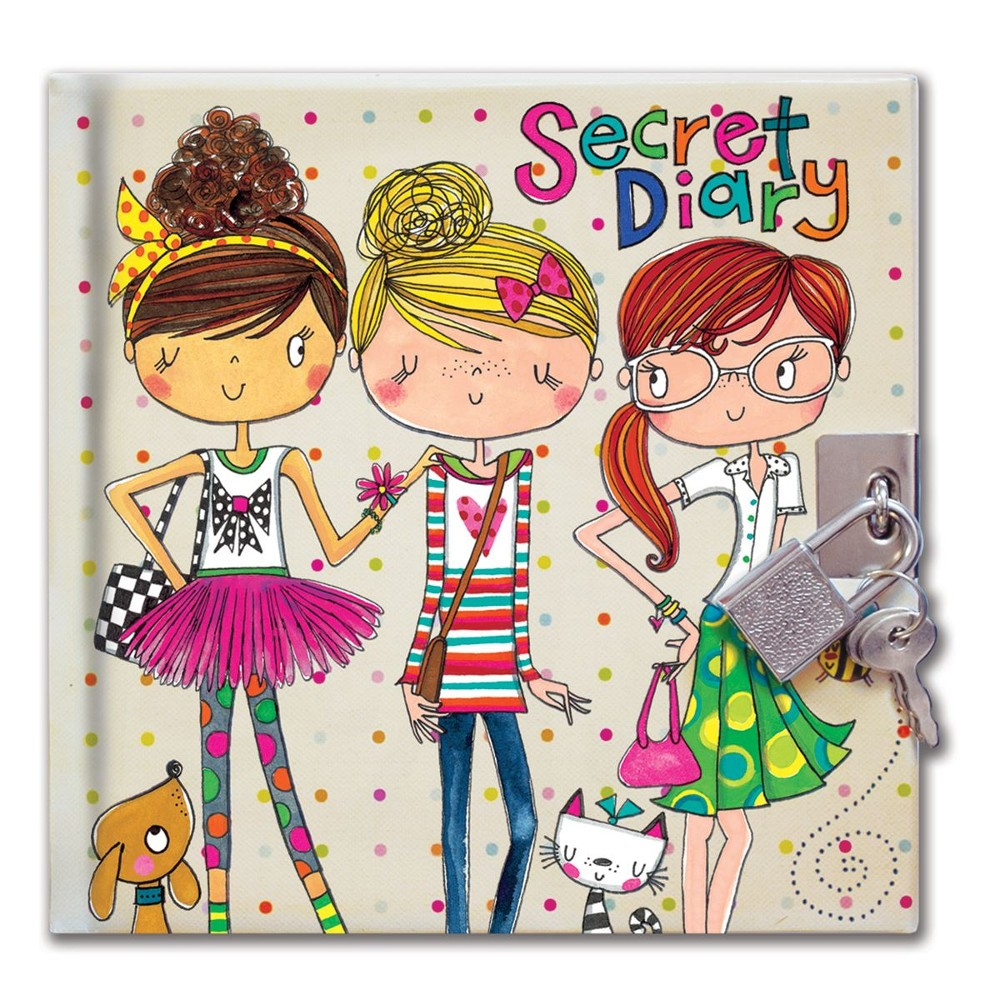 Secret Diary designed by Rachel Ellen
