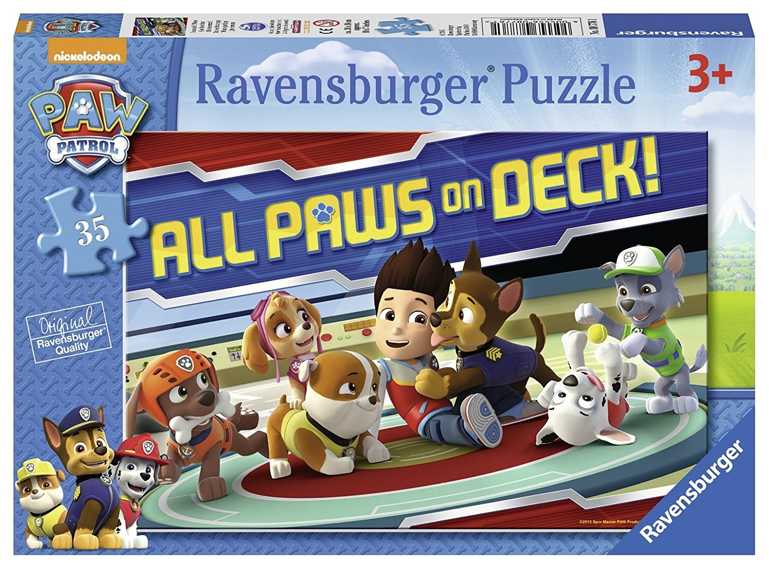 Paw Patrol Child's Jigsaw Puzzle 35 piece (3Yrs+)