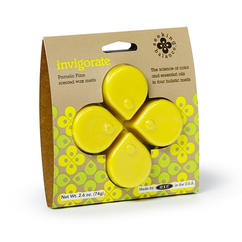 "Seeking Balance ""Invigorate"" Soy Wax Melts"
