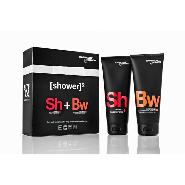 Shampoo & Body Wash for men from Scaramouche + Fandango