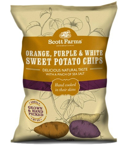Mixed Sweet Potato Chips 40g