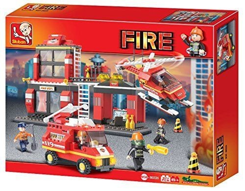 FIRE Construction Set by Sluban Toy Bricks