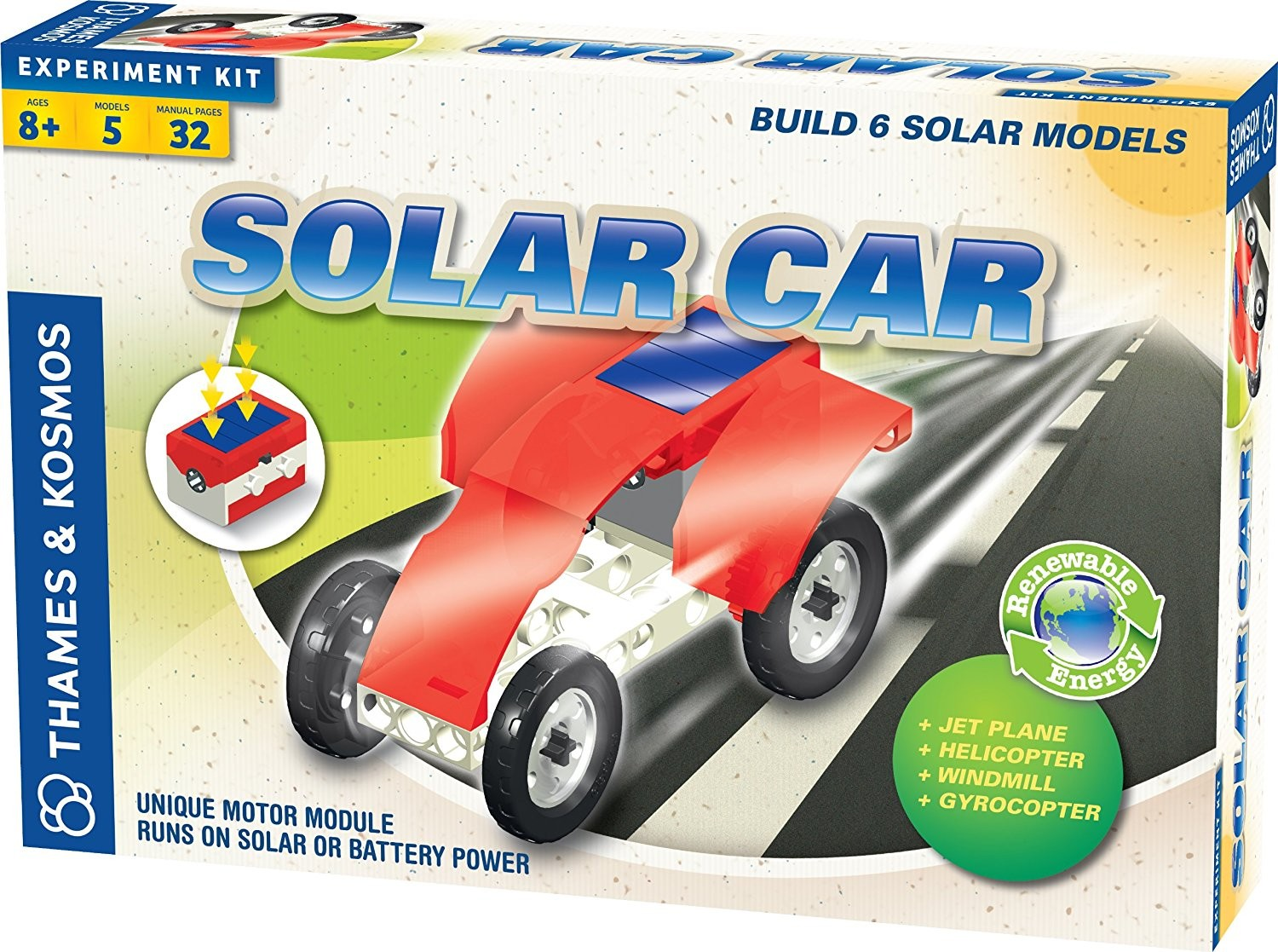 Solar Car Set Science Kit by Thames & Kosmos