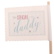 """Special Daddy"" Decorative Flag by East of India"