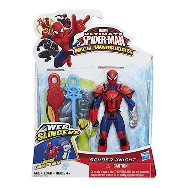 Ultimate Spider-Man Web Warrior Spider Knight figurine by Hasbro