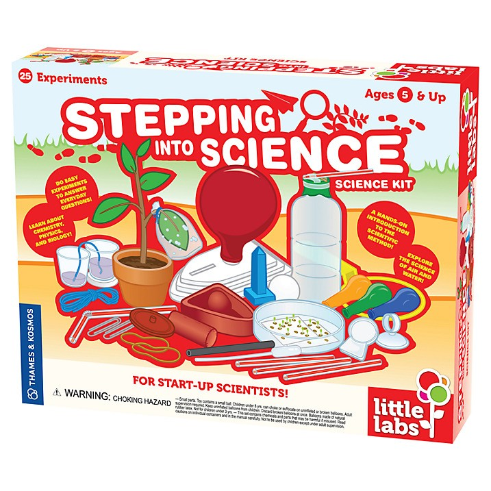 Stepping Into Science by Thames & Kosmos