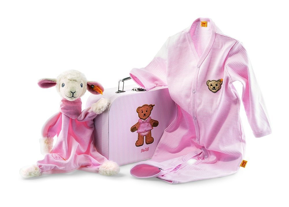Sweet Dreams Lamb Comforter Gift Set By Steiff