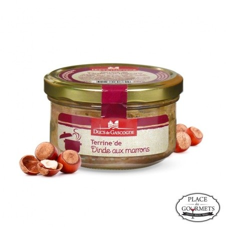 Terrine de Dinde aux Marrons (Turkey with Chestnuts) 90g