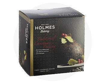 Holme's Bakery Traditional Christmas Pudding
