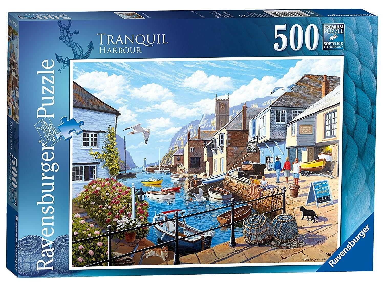 Tranquil Harbour 500 Piece Puzzle