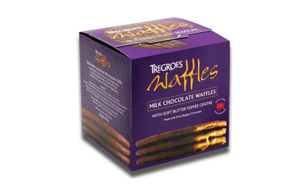 Tregroes Belgian Chocolate Waffles