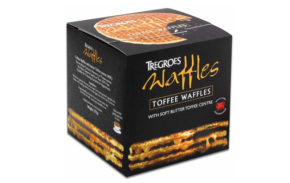 Tregroes Toffee Waffles