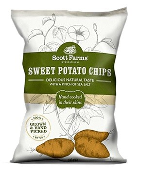 Original Sweet Potato Chips 40g
