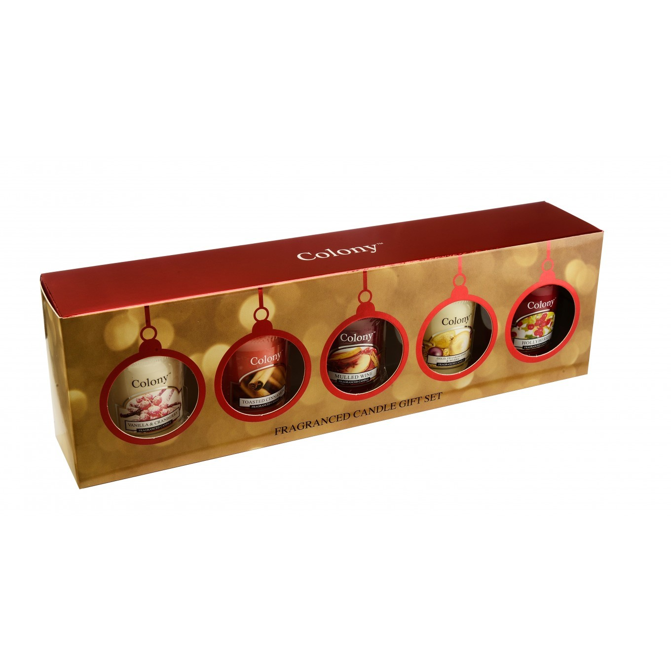 Colony 5 Christmas Fragranced Votive Gift Set