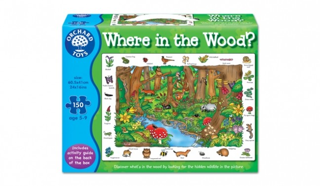 Where in the Wood Puzzle by Orchard Toys