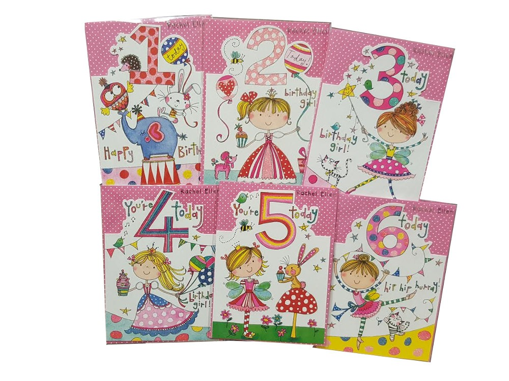 Young Girl Age card